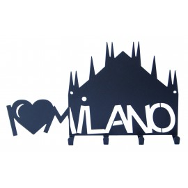 """Appendi chiavi """"I Love Milano"""""""