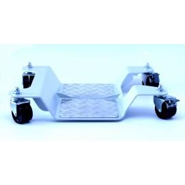 Pedana sposta/accosta moto ruote in nylon